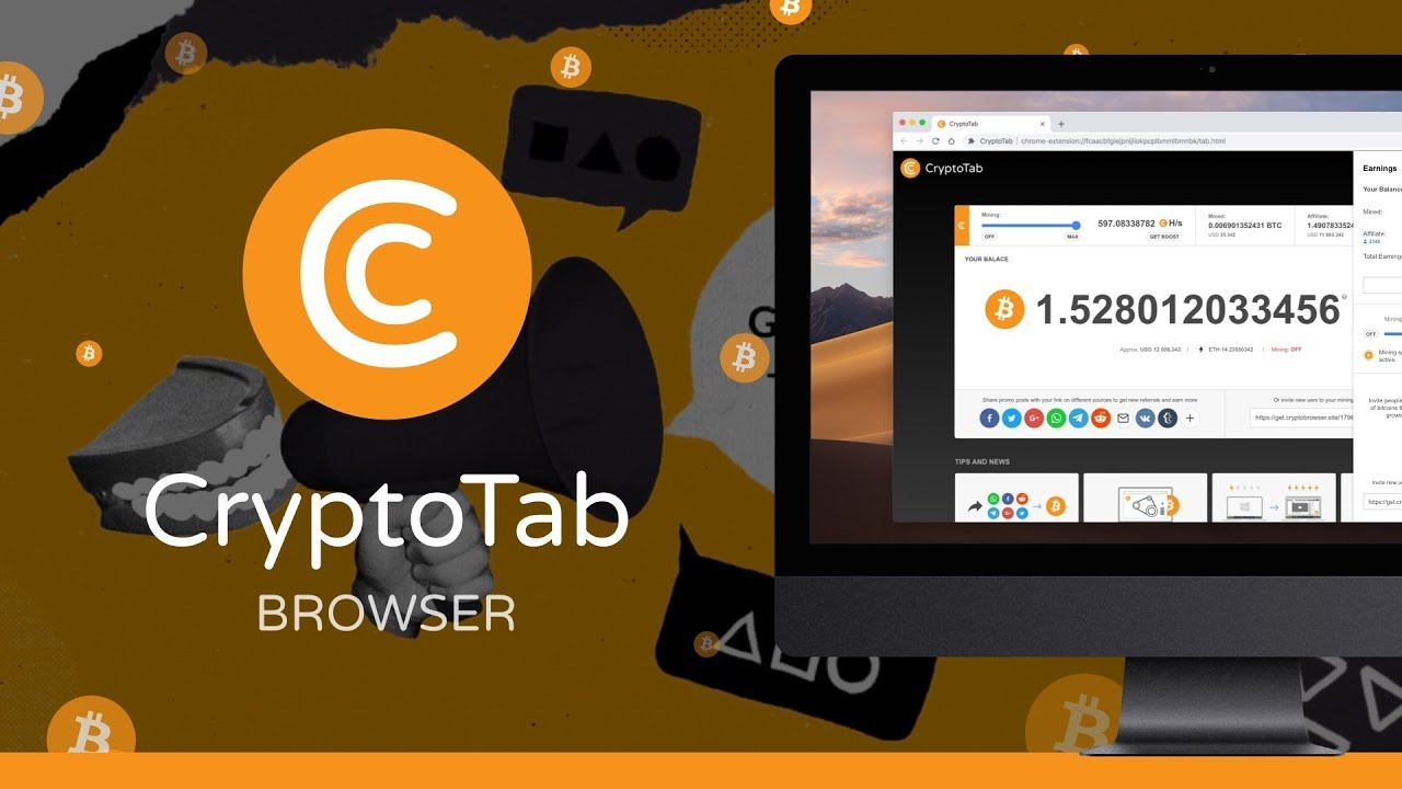 VIDEO: Crypto Tab Browser – Earning Bitcoins while using your browser